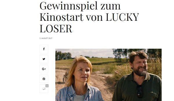 Ajour Men Gewinnspiel Lucky Loser Zelte 2017
