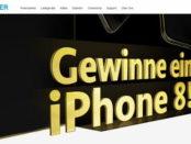 Anker Gewinnspiel Apple iPhone 8 gewinnen 2017