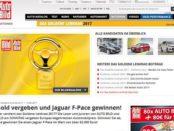 Auto Bild Gewinnspiel Goldenes Lenkrad 2017 Jaguar F-Pace gewinnen