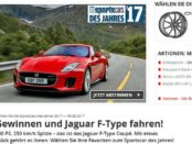Auto Bild Sportscars 2017 Leserwahl Jaguar F-Type