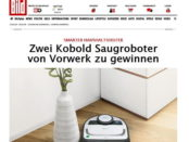 Bild.de Gewinnspiel Vorwerk Saugroboter 2017