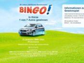 Bingo Autogewinnspiel 2017