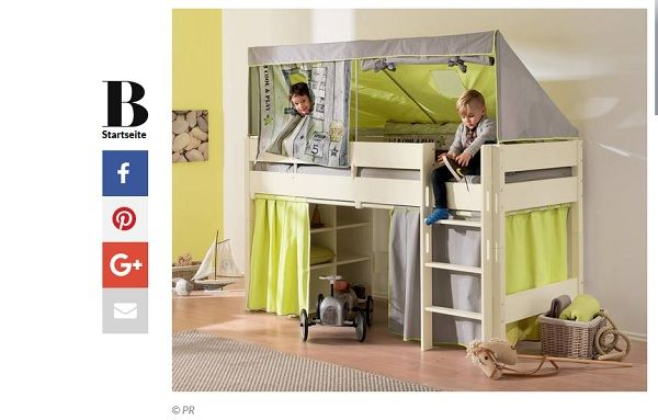 kinderhochbett gewinnspiel brigitte spielbett biancomo von paidi. Black Bedroom Furniture Sets. Home Design Ideas