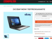 Cosmopolitan Gewinnspiel ebay Notebook 2017
