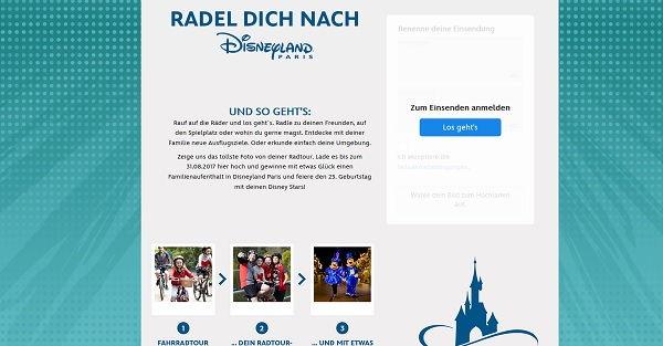 Disney Gewinnspiel Disneyland Paris Familienreise 2017