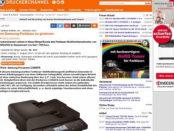 Druckerchannel Farblaserdrucker Bingo Gewinnspiel