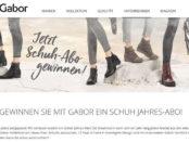 Gabor Schuhe Gewinnspiel Schuh Flatrate 2017