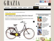 Grazia Magazin Gewinnspiel Grazia Fahrrad 2017