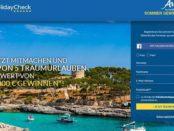 Holiday Check Sommer Gewinnspiel 5 Reisen 2017