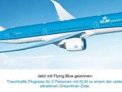 KLM Flying Blue Gewinnspiel Deamliner Reise 2017