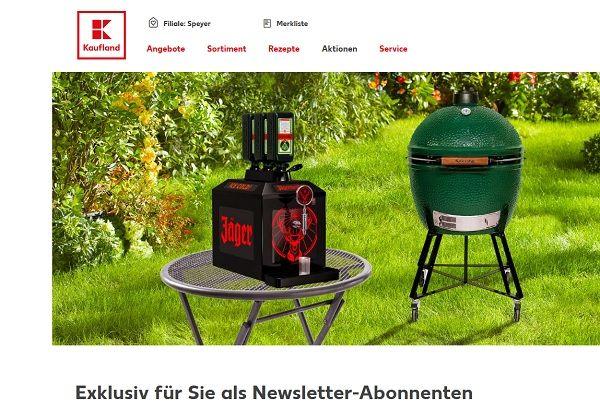 Kaufland Gewinnspiel Jägermeister Zapfanlage 2017