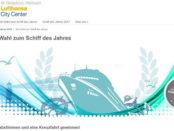 Lufthansa City Center Gewinnspiel Kreuzfahrt 2017