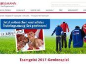 Rossmann Gewinnspiel Teamgeist Adidas Trainingsanzüge 2017