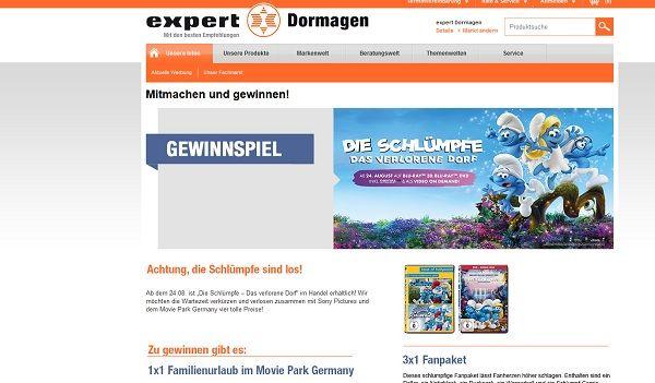 expert Gewinnspiel Familienurlaub Movie Park Germany 2017