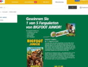 real Gewinnspiel Bigfoot Junior 2017