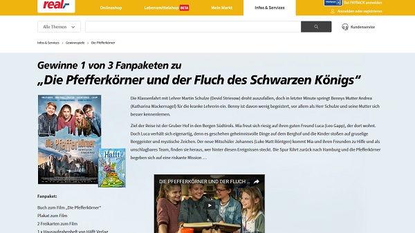 real Gewinnspiel Pfefferkörner Fanpakete 2017