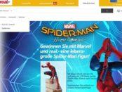 real Gewinnspiel Spider Man Figur 2017