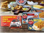 real iglo Gewinnspiel Fiat 500 2017
