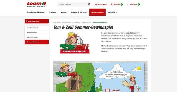 toom Baumarkt Sommer Gewinnspiel 2017