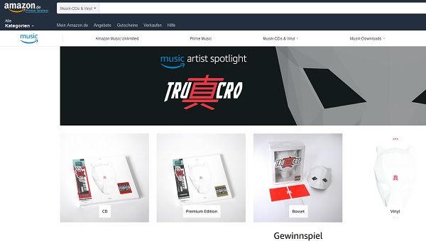 Amazon Gewinnspiel Cro Konzert Reise