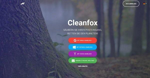 Cleanfox Newsletter Bereiniger
