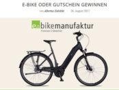 Deerberg E-Bike Gewinnspiel 2017