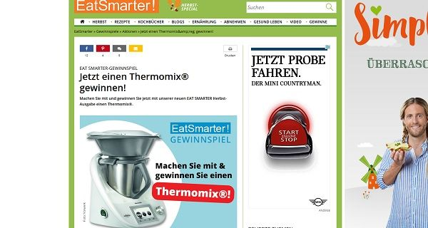 Eatsmarter Thermomix Gewinnspiel2017