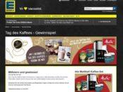 Edeka Gewinnspiel Tag des Kaffees 2017