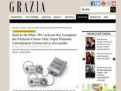 Grazia Magazin Super Nintendo Classic Gewinnspiel 2017