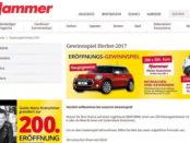 Hammer Heimtex Gewinnspiel Mini Cooper 2017