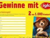 Iglo Gewinnspiel Paddington 2 Kinokarten