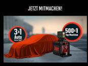 Jägermeister Auto-Gewinnspiel 2017