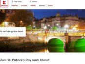 Kaufland Gewinnspiel Irland Reise 2017