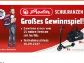 Müller Gewinnspiel Herlitz Scooter 2017