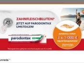 Müller Gewinnspiel Paradontax weg.de Gutscheine 2017