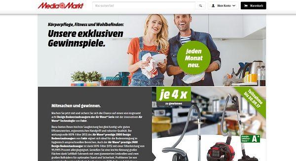 Media Markt Gewinnspiel September 2017 Staubsauger