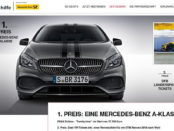 Mercedes A-Klasse Gewinnspiel Deutsche Sporthilfe 2017