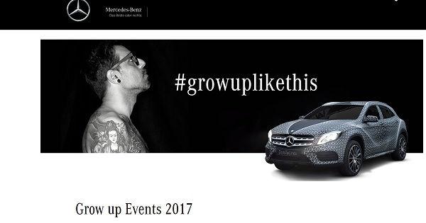 Mercedes GLA Gewinnspiel #growuplikethis
