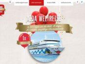 REWE AIDA Weltreise Gewinnspiel 2017