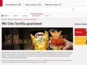 REWE Gewinnspiel Chio Tortillas Raclette Sets