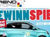 Trendstore Auto-Gewinnspiel Renault Twingo 2017