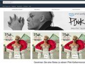 Amazon Gewinnspiel Pink Geheimkonzert Reise 2017