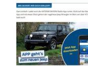 Antenne Bayern Gewinnspiel Jeep Wrangler 2017