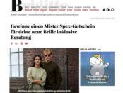 Brigitte Gewinnspiel Mister Spex 500 Euro Brillengutschein