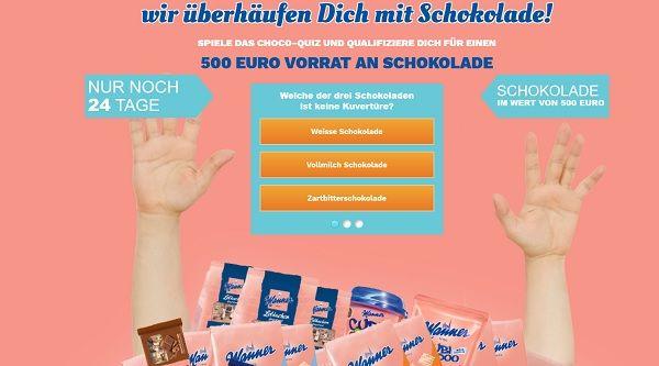 Coupon Jäger Schokoladen Gewinnspiel 2017
