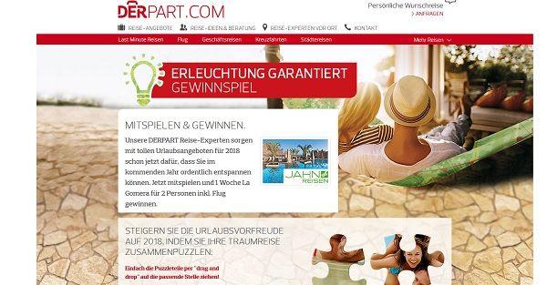 DERPART Reise Gewinnspiel La Gomera 2017