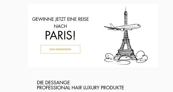 Dessange Paris Reise Gewinnspiel 2017