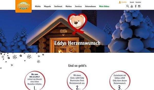Globus Eddys Herzenswunsch Gewinnspiel 2017