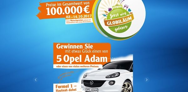 globilaeum gewinnspiel globus 5 opel adam und reisen gewinnen. Black Bedroom Furniture Sets. Home Design Ideas