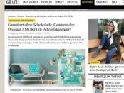 Grazia Magazin Gewinnspiel Amolie Adventskalender 2017